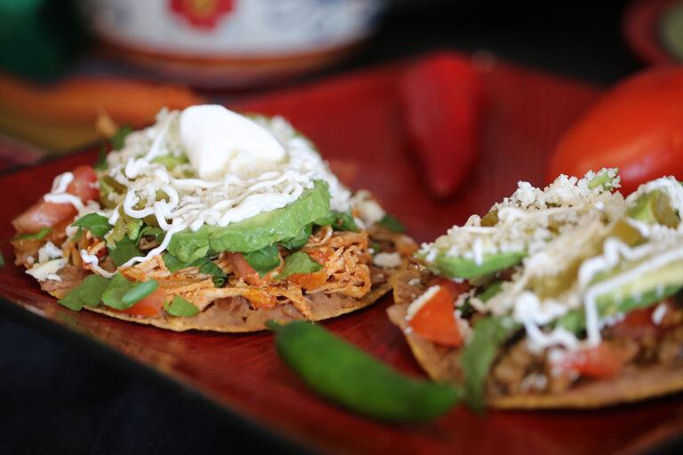 El Ranchero Tostada Recipe